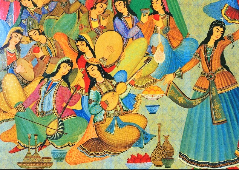 música tradicional iraní
