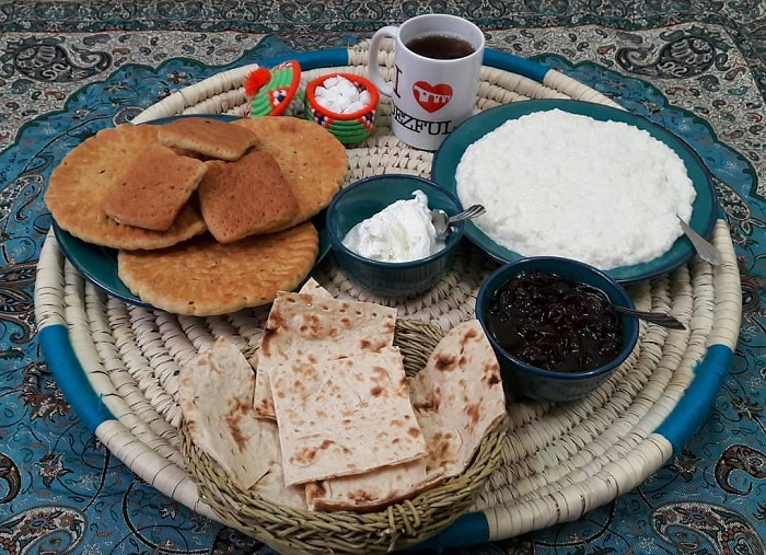 persian breakfast sout