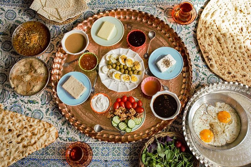 persian breakfast