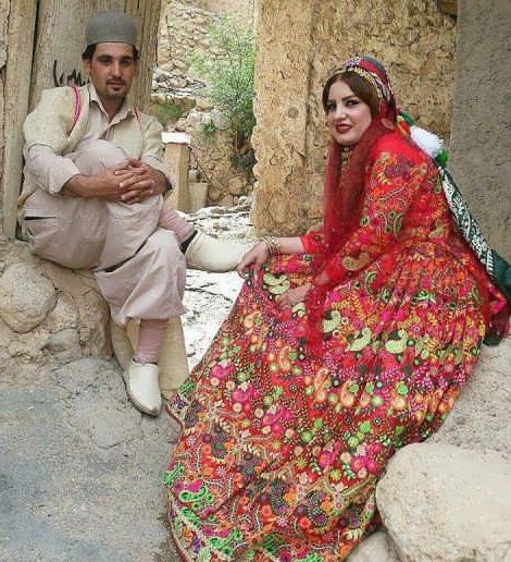 Traditionl clothing in iran