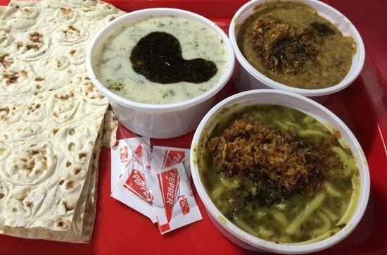 The most famous street food in Iran