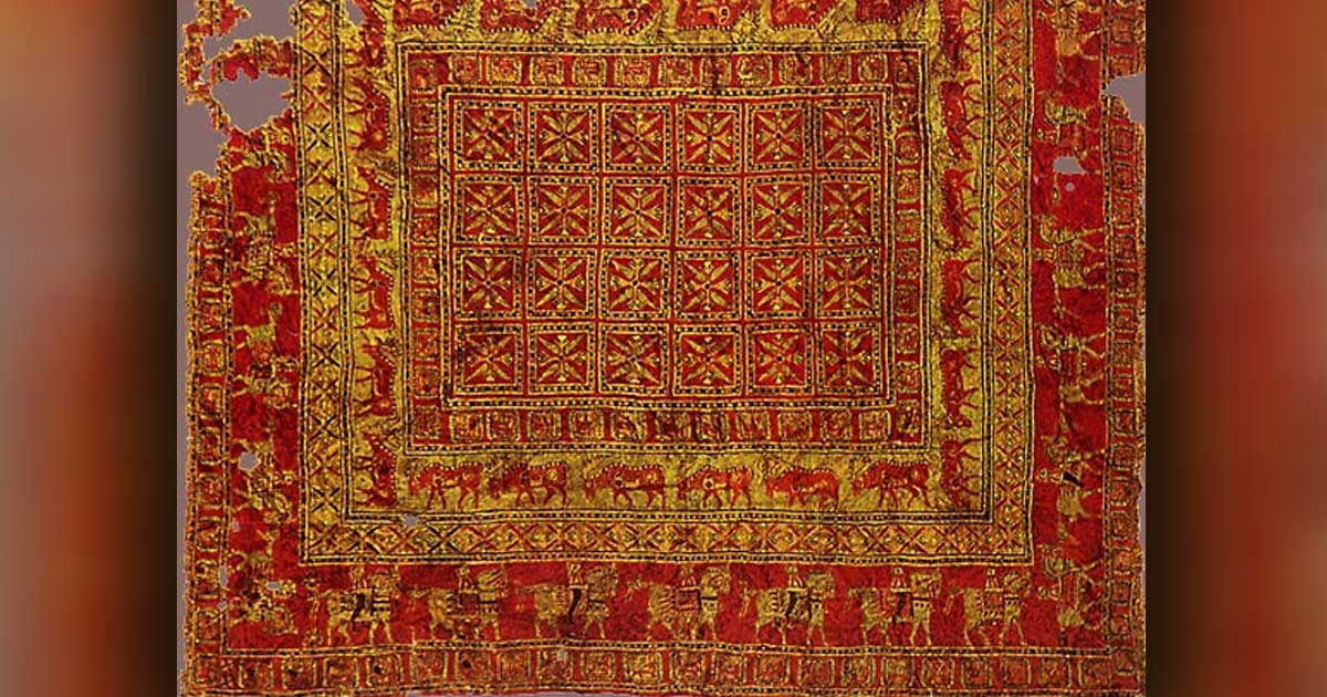 Pazirik, the oldest Persian Carpet