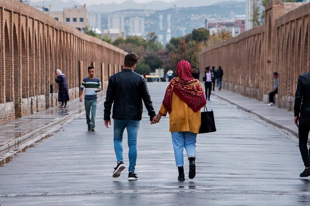 Iranians are Romantic people - surprises in Iran