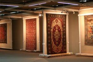 Carpet Museum in Tehran during Iran Nomad tour