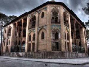 Hasht behesht during tour around Iran