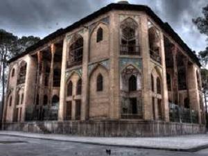 Hasht behesht during tour around Iran