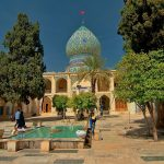 Ali ebn e Hamzeh holy shrine - Iran Religious Tour
