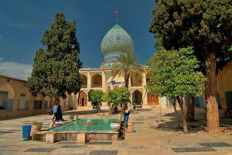 Ali ebn e Hamzeh holy shrine - Iran Religious Tour
