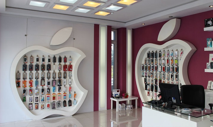 Apple stores in Iran - surprises in Iran