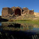 Sassanid Archäologische Landschaft