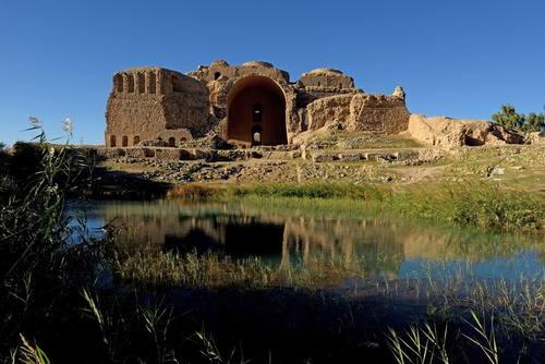 Sassanid Ardashir Palace