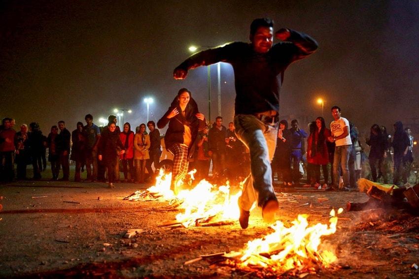 Chahar Shanbe Suri - Iranian Festivals