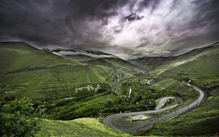 Chalus Road- North of Iran