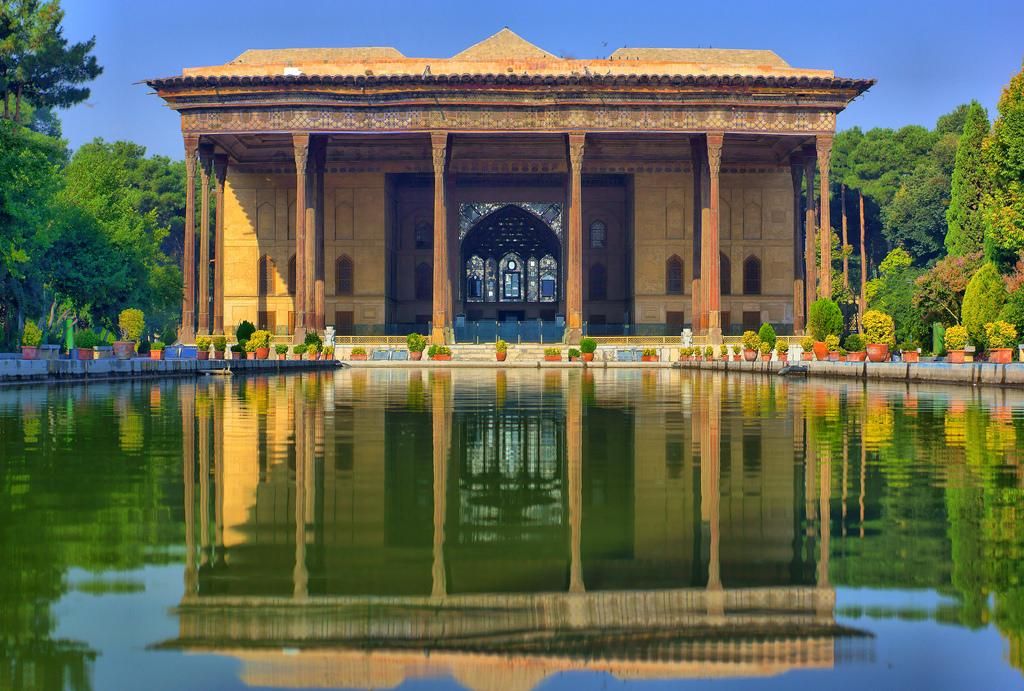 Chehel Sutun Garden, Isfahan