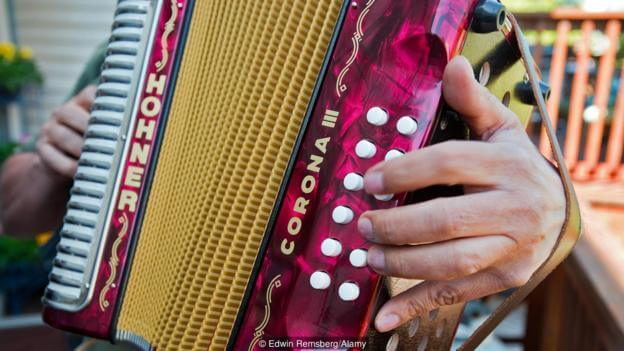 The country obsessed with accordions