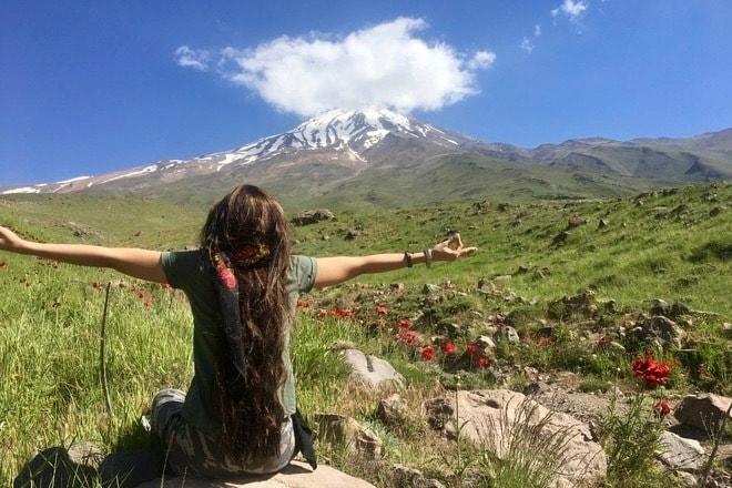 Trekking in Damavand Volcano