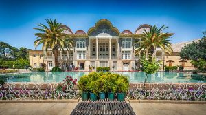 Eram Garden in tour around Iran
