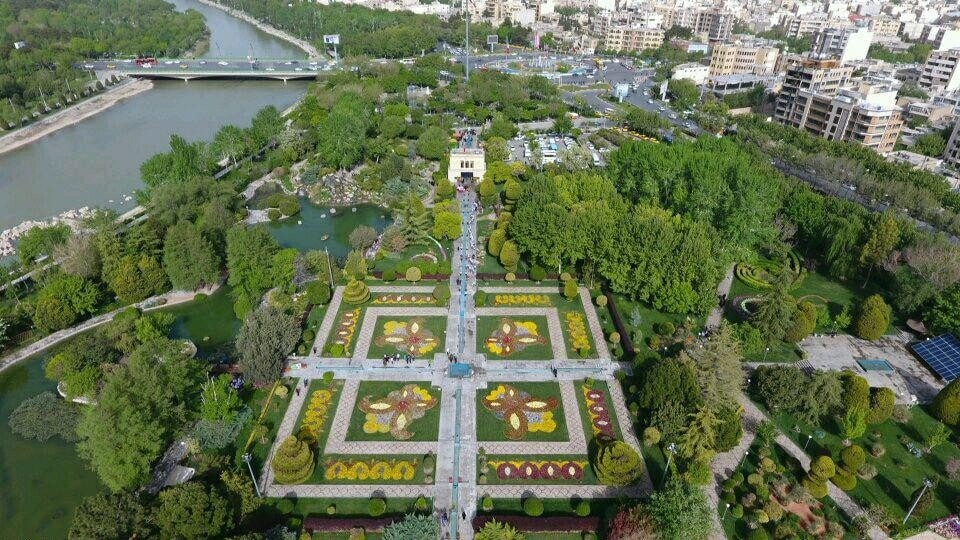 Golha or Flower garden in Isfahan - surprises in Iran