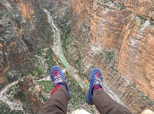 Haygher canyon -Iran canyons