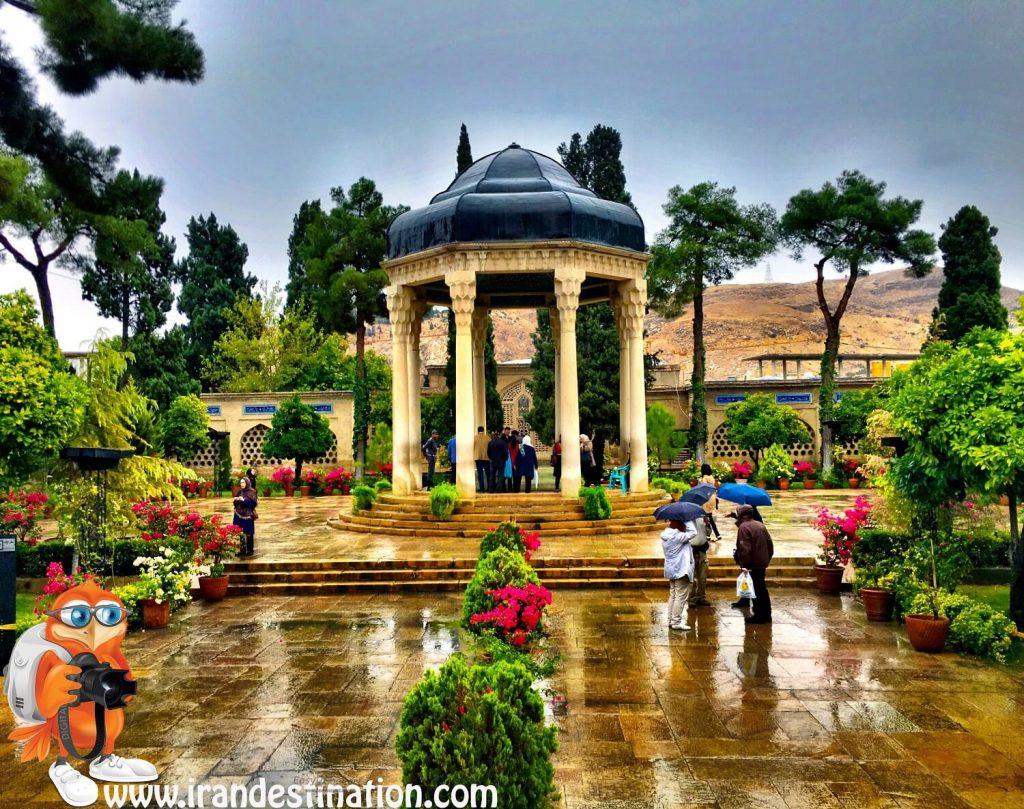 Hafis , der große persischen Dichter