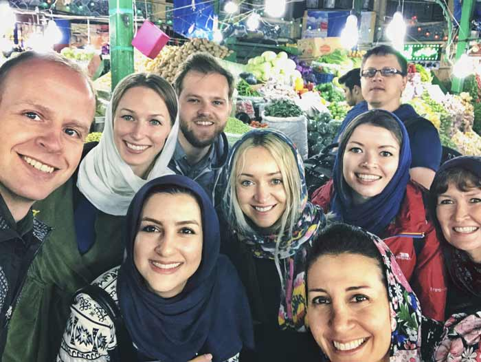 Iran's hospitality is famous around the world