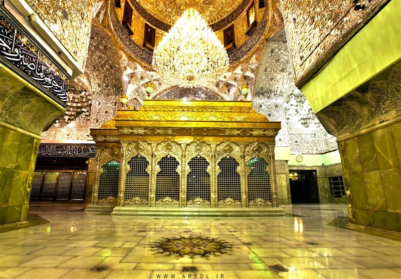Imam hossein holy shrine in Karbala - Ziarat Package