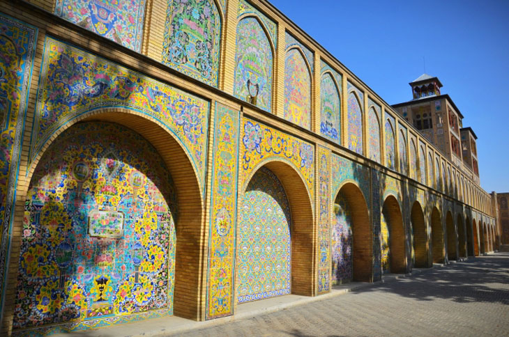 Iran Destination, a tour to Golestan Palace