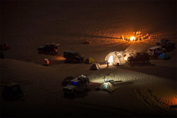 Iran Destination: Mesr Desert at night