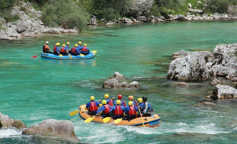 Rafting in Iran