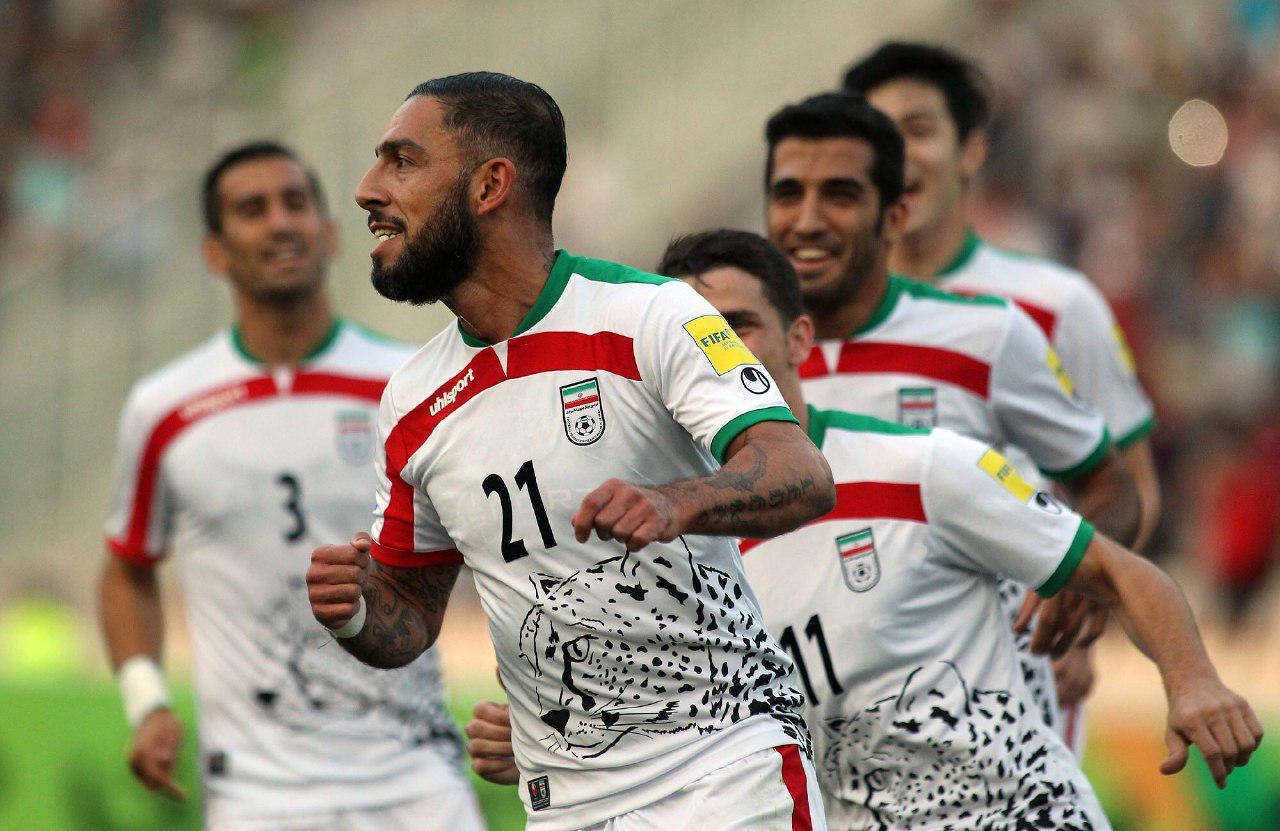 Iran national football team's jersey - Asiatic Cheetah