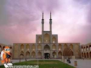 Visiting Amir Chakhmaq during Iran Cultural Tour