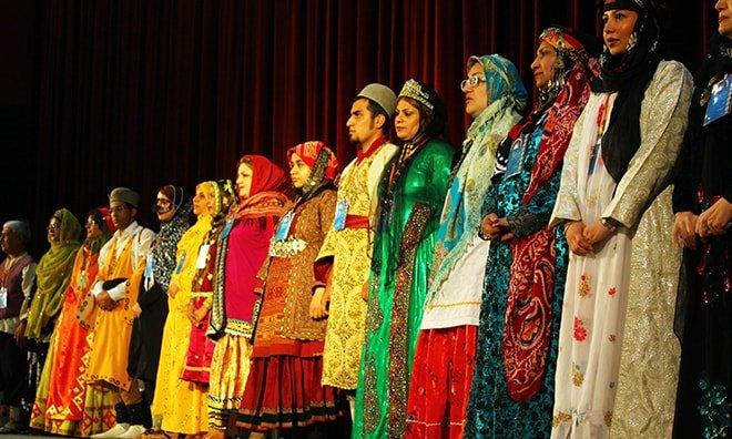 Iranian Traditional Clothing , all Tribes of Iran