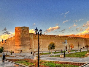 zandieh complex in Iran at a glance tour