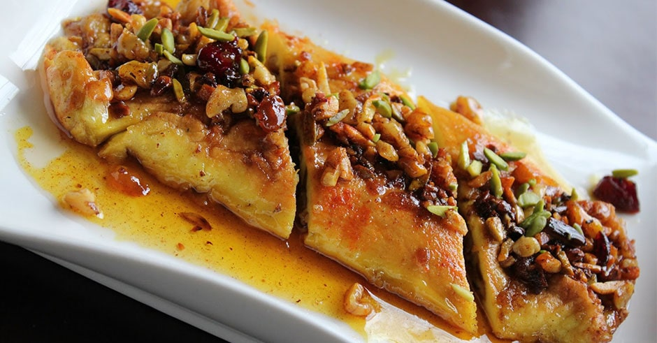 Khagineh - Persian Dessert from Tabriz