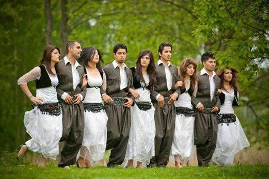 Kurdish Traditional Clothing , Iran
