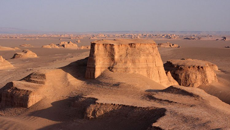 Kalut-Lut Desert in Wonderful Iran