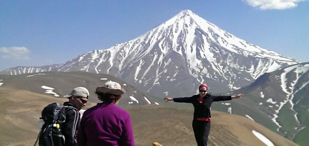 Damavand Mount , Iran Mountains