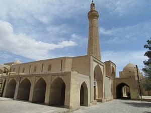 Nain Jame mosque during tour around iran