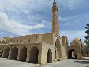 Nain Jame mosque during discover iran tour