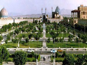 Naqshe Jahan Square in Esfahan during IRan Cultural tour