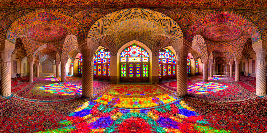Nasirol Mosque, one of the best photography spots in Iran