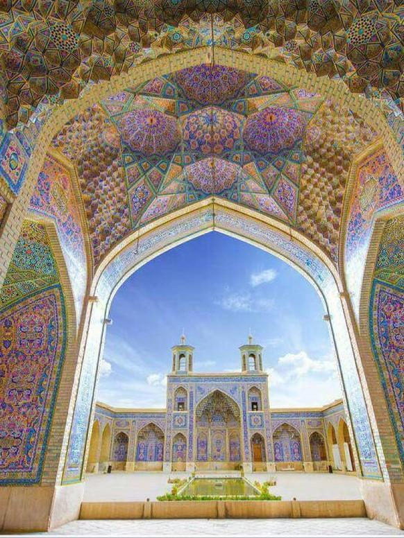 The Pink Mosque, Shiraz