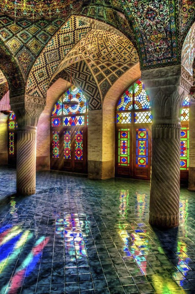 Pink Mosque of Shiraz