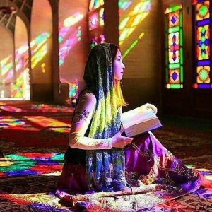 nasiralmolk mosque in shiraz, Iran
