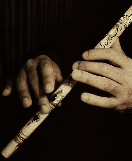 Ney - Persian traditional music instrument
