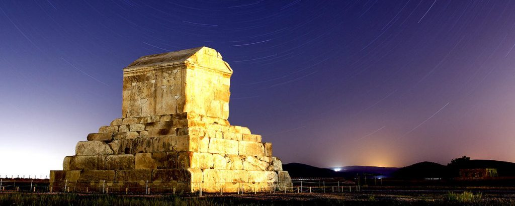 visiting Pasargadae during Iran Historical Tours