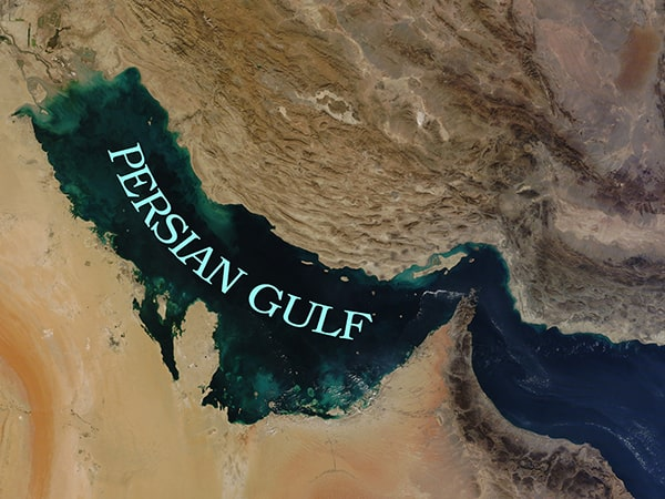 Persian Gulf in wonderful Iran