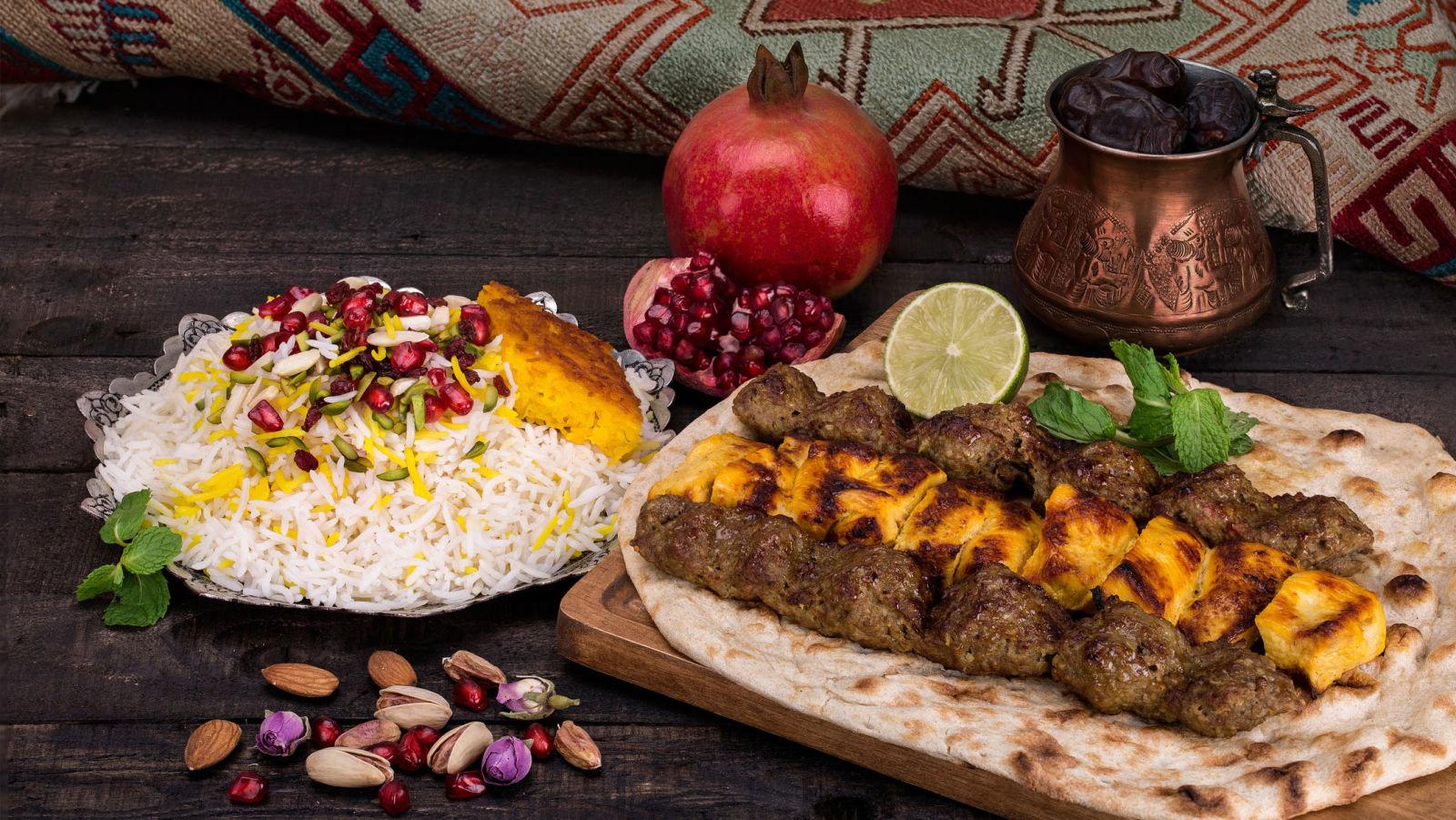 Chelo Kebab - surprises in Iran