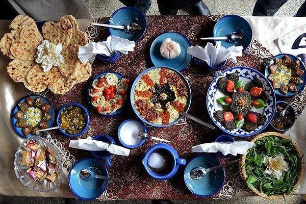A Trip to Iran with Kids- Foods in Iran
