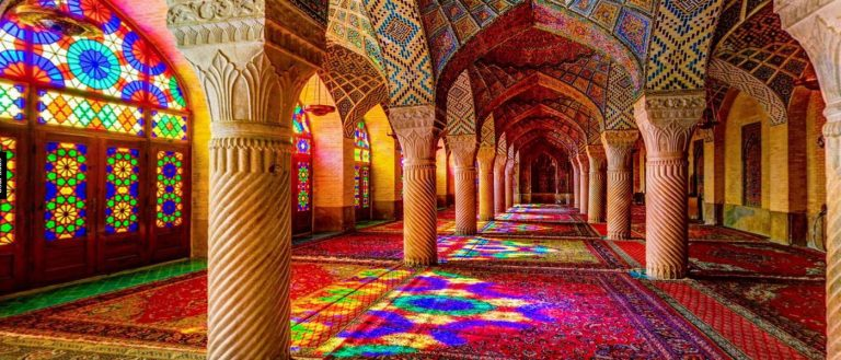 Pink Mosque , Shiraz Highlight Attractions